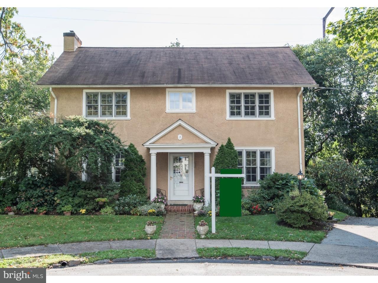 Casa Unifamiliar por un Venta en 7 W NEWFIELD WAY Bala Cynwyd, Pennsylvania 19004 Estados Unidos