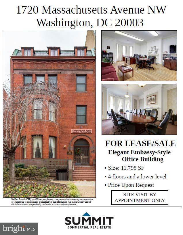 Commercial for Sale at 1720 Massachusetts Ave NW Washington, District Of Columbia 20036 United States