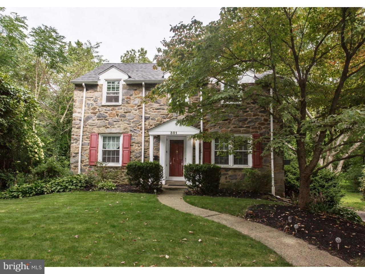 Casa Unifamiliar por un Venta en 301 RIVERVIEW Road Swarthmore, Pennsylvania 19081 Estados Unidos