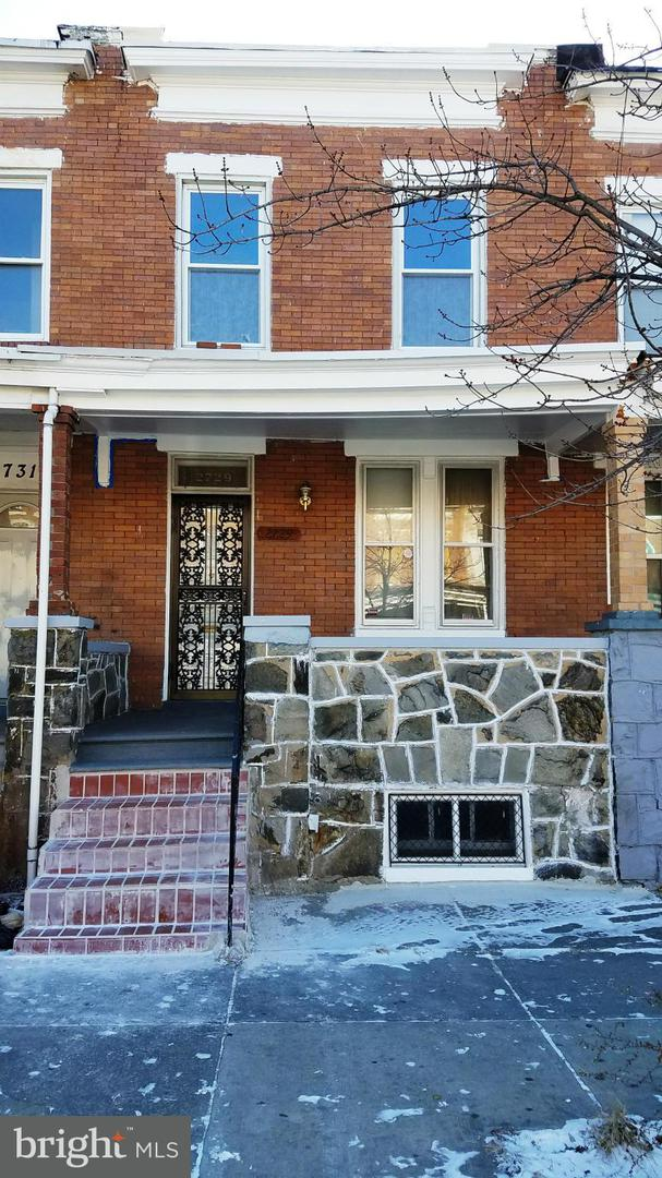 Other Residential for Rent at 2729 Ashland Ave Baltimore, Maryland 21205 United States