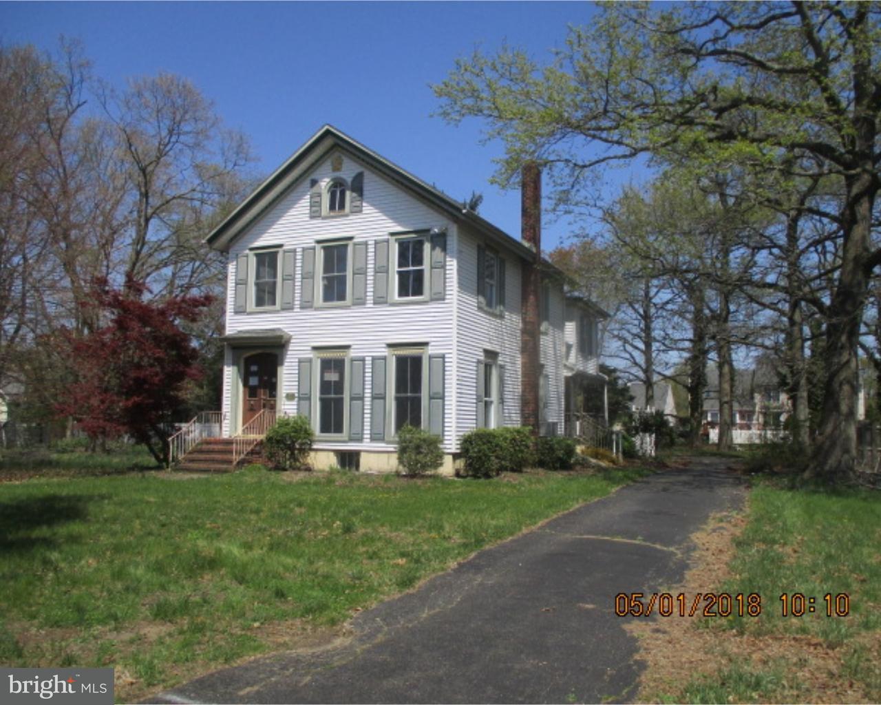 Частный односемейный дом для того Продажа на 1018 PERKINS Lane Beverly, Нью-Джерси 08010 Соединенные Штаты