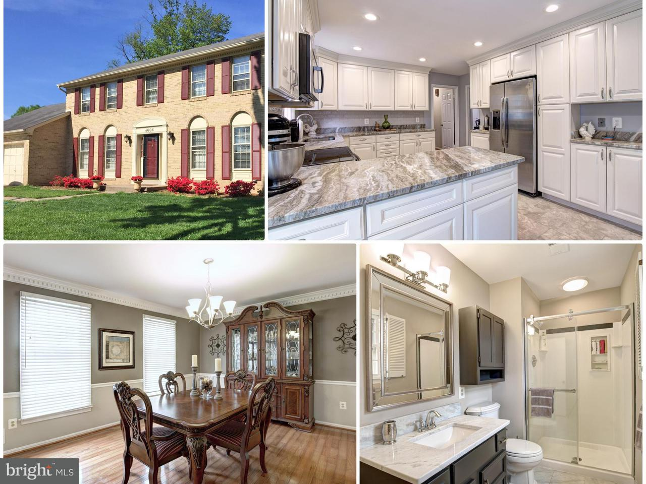Single Family Home for Sale at 4606 Demby Drive 4606 Demby Drive Fairfax, Virginia 22032 United States
