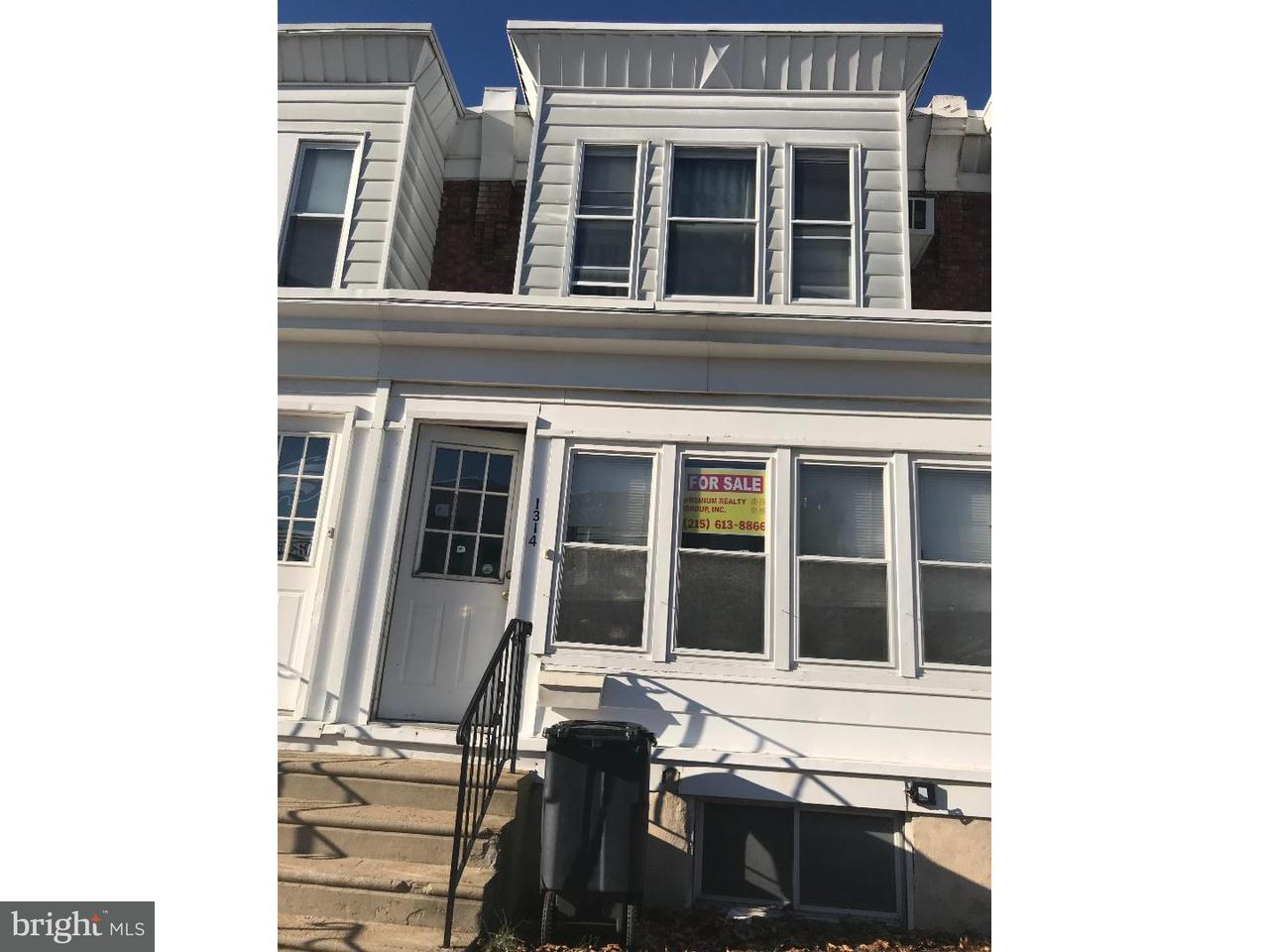 Townhouse for Sale at 1314 E 10TH Street Eddystone, Pennsylvania 19022 United States