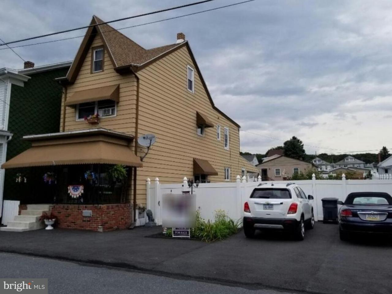 Casa Unifamiliar por un Venta en 137 S LINE Street Frackville, Pennsylvania 17931 Estados Unidos