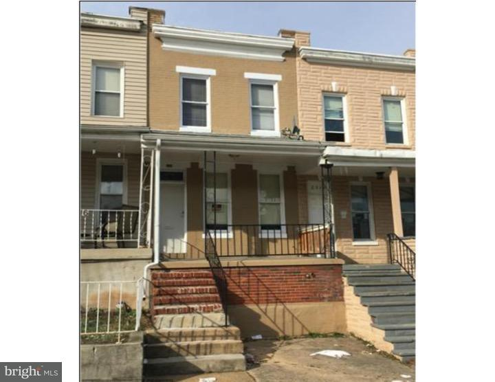 Single Family for Sale at 2314 Sidney Ave Baltimore, Maryland 21230 United States