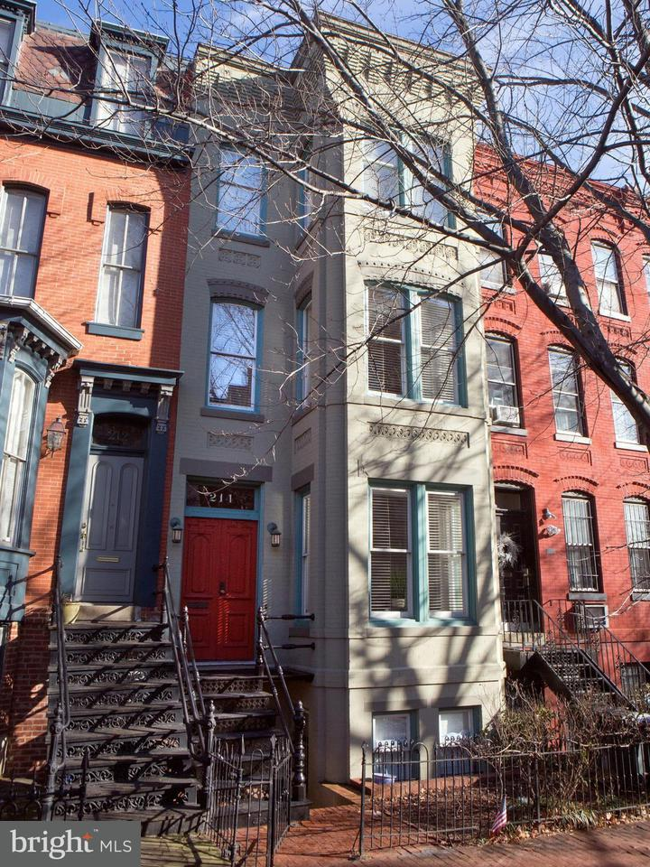 Townhouse for Sale at 214 4th St Se 214 4th St Se Washington, District Of Columbia 20003 United States