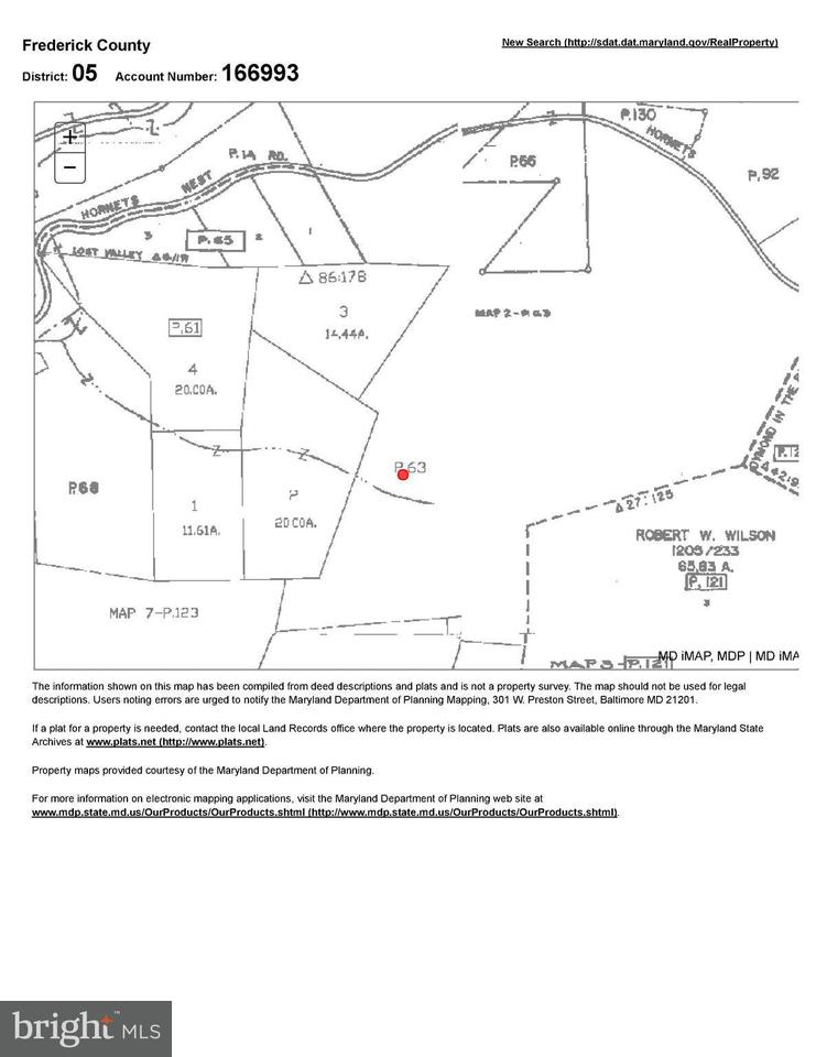Land for Sale at S/S Hornets Nest Road S/S Hornets Nest Road Emmitsburg, Maryland 21727 United States