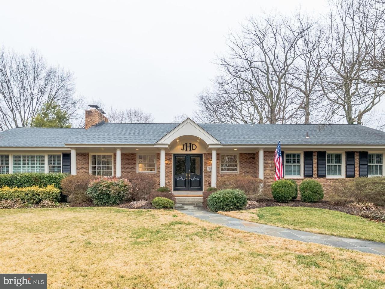 Single Family Home for Sale at 7215 Burtonwood Drive 7215 Burtonwood Drive Alexandria, Virginia 22307 United States