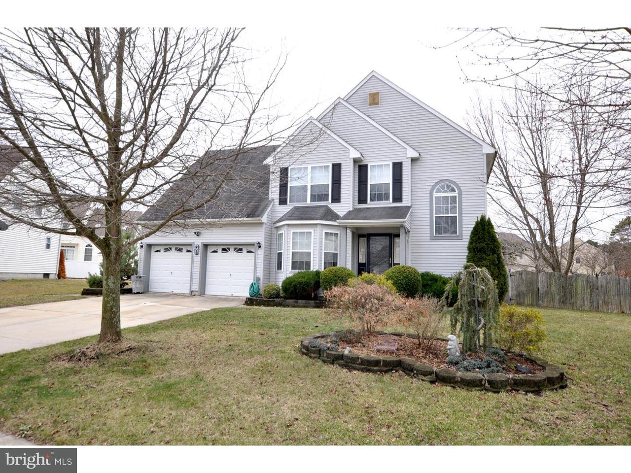 Maison unifamiliale pour l Vente à 205 SALEM Street Egg Harbor Township, New Jersey 08234 États-Unis