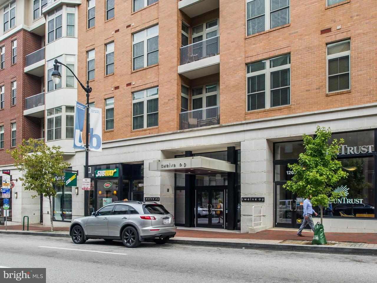 Condominium for Rent at 1209 Charles St N #403 Baltimore, Maryland 21201 United States