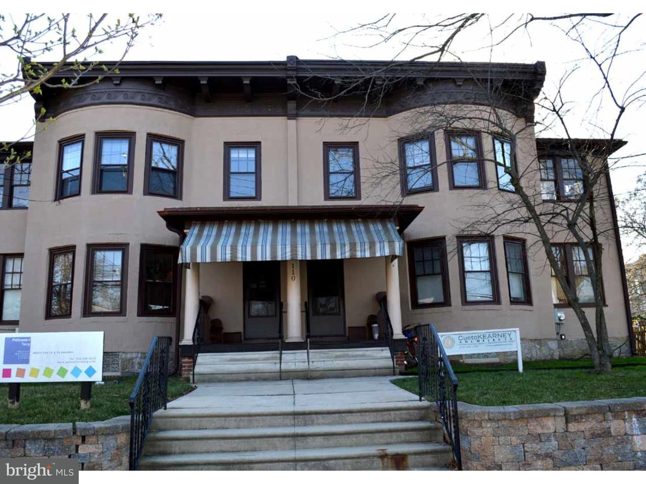 Single Family Home for Rent at 110 PARK AVE #3 Swarthmore, Pennsylvania 19081 United States