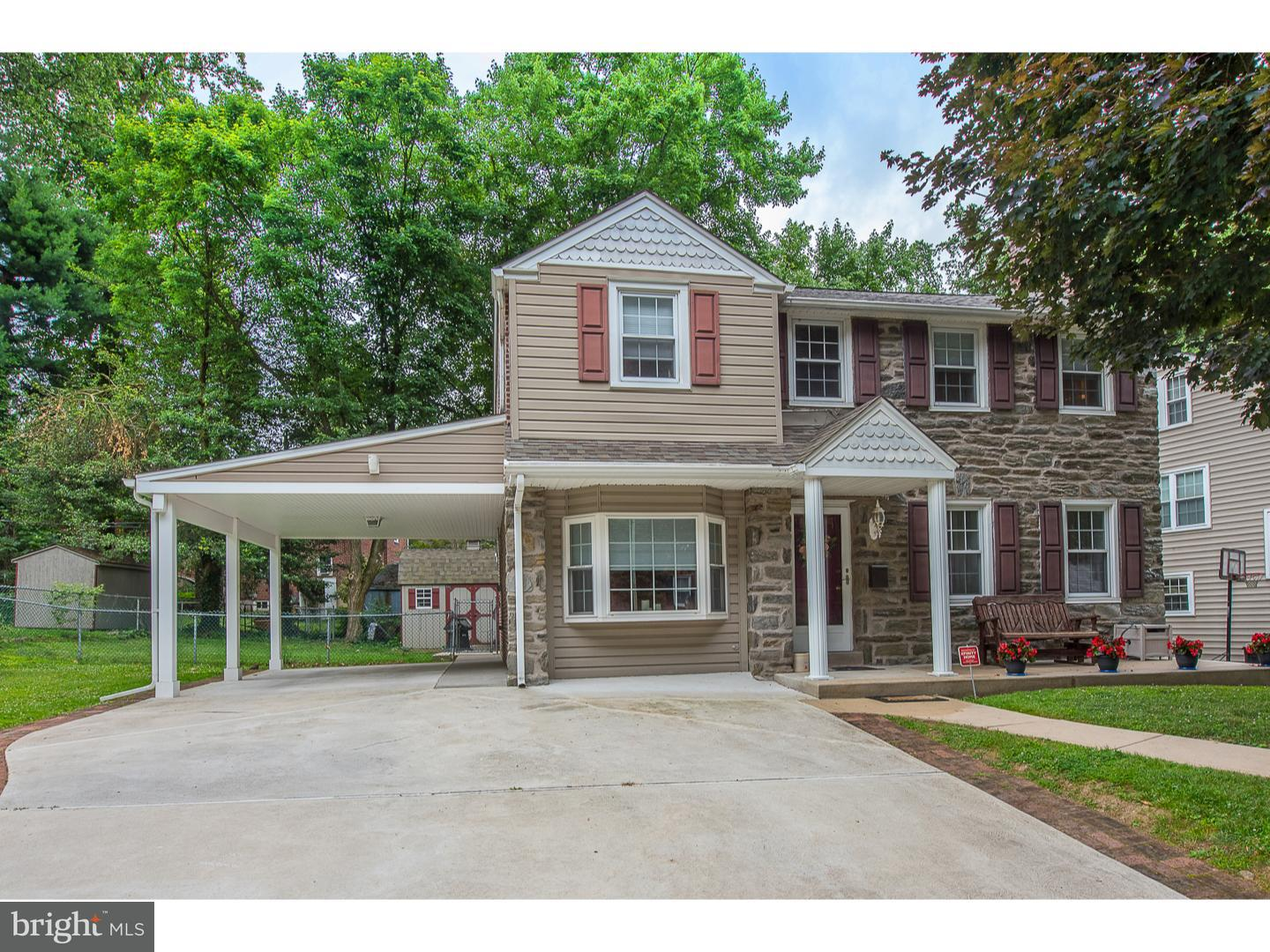 Single Family Home for Sale at 244 WARRIOR Road Drexel Hill, Pennsylvania 19026 United States