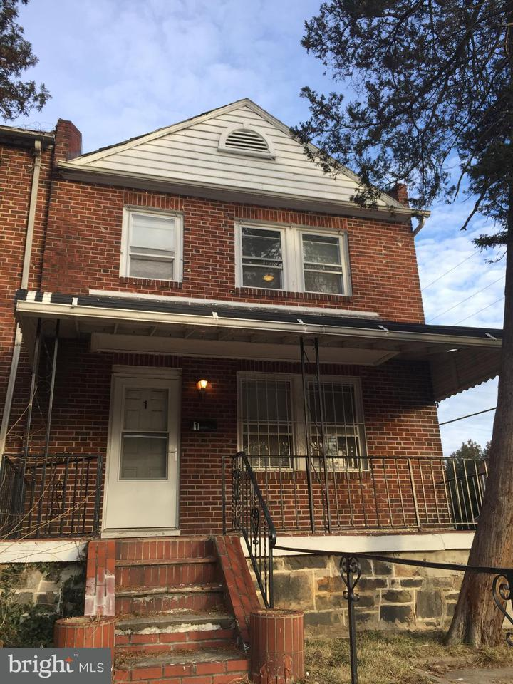 Single Family for Sale at 1 N Ellamont St Baltimore, Maryland 21229 United States