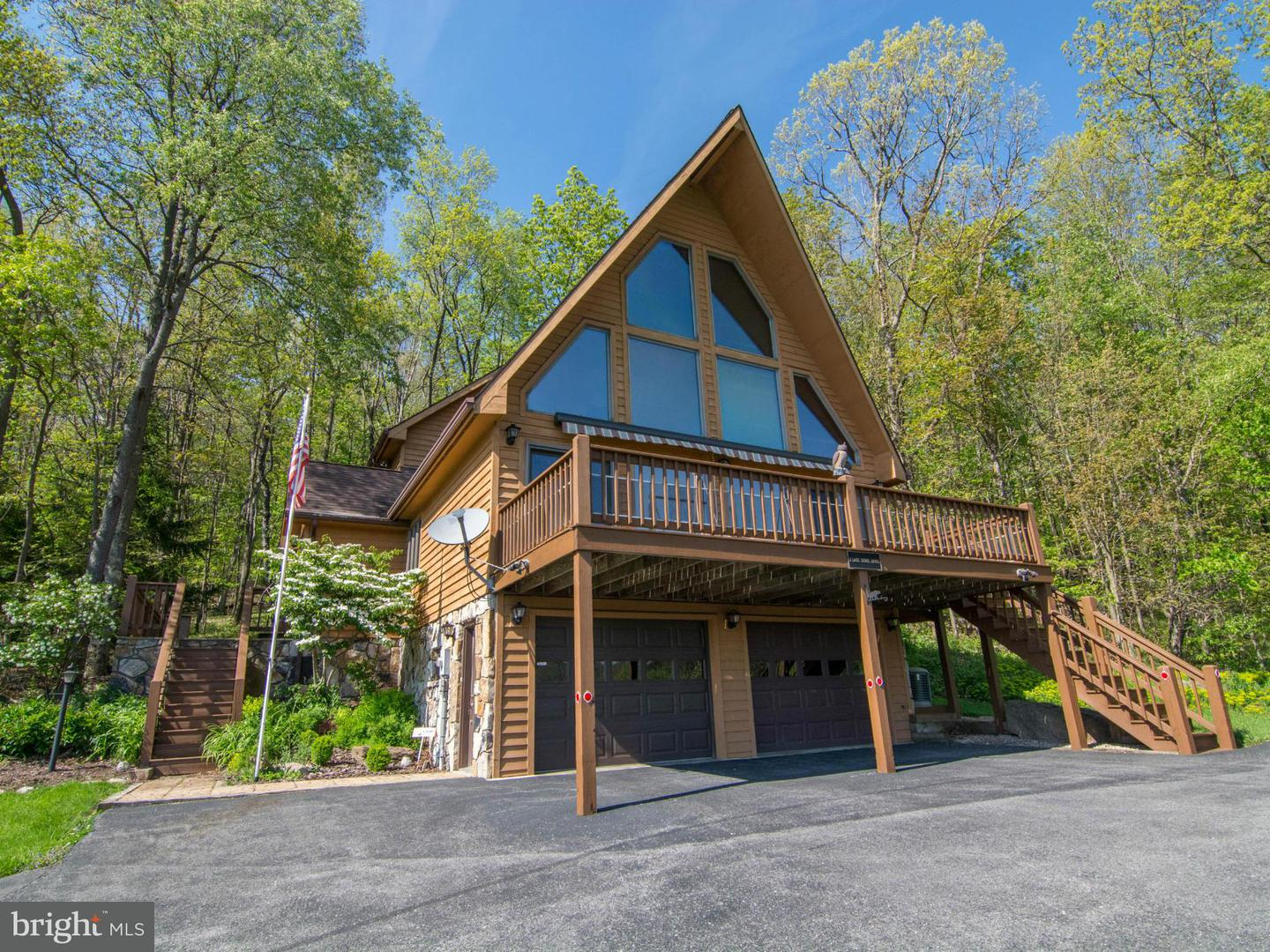 Photo of home for sale at 2 Lake Shore Drive, Oakland MD