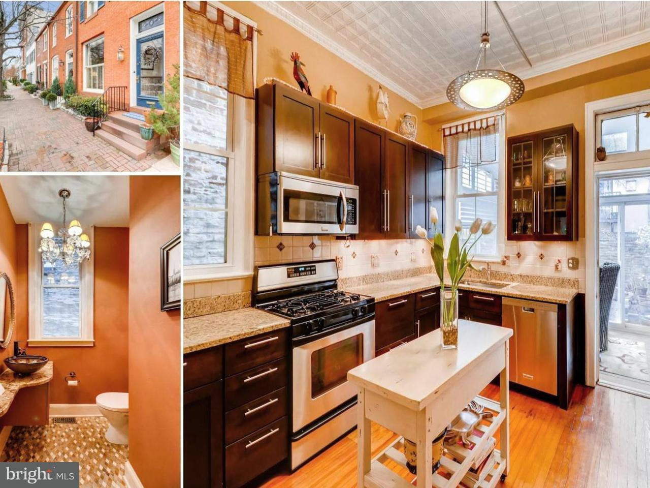 Single Family for Sale at 115 Montgomery St Baltimore, Maryland 21230 United States