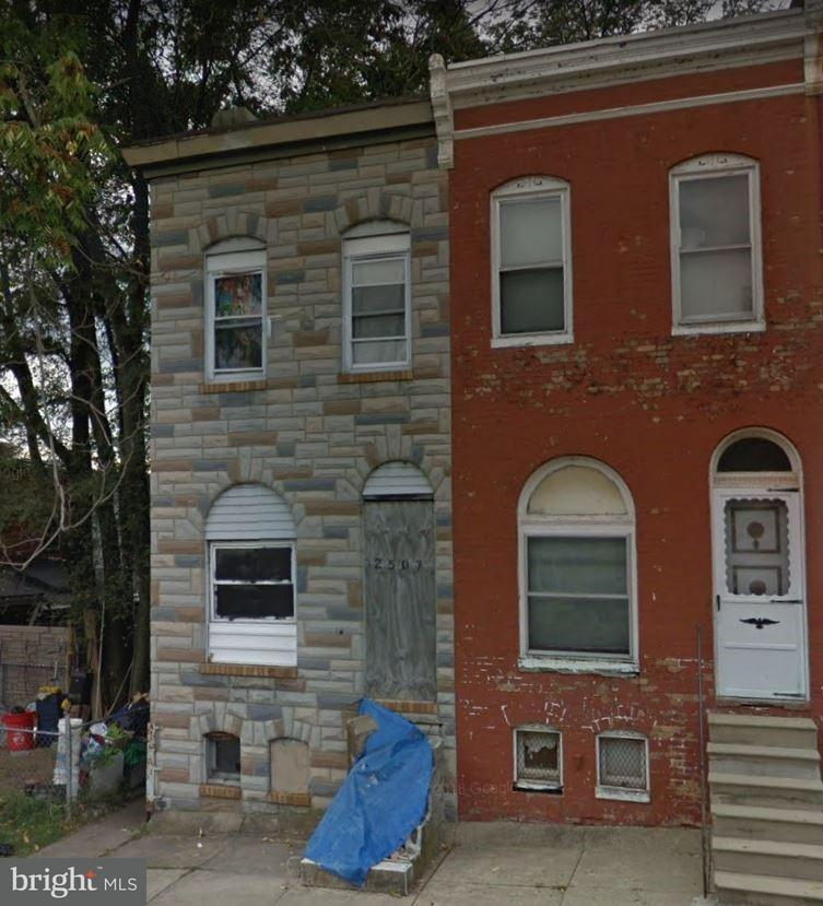 Single Family for Sale at 2507 Mchenry St Baltimore, Maryland 21223 United States