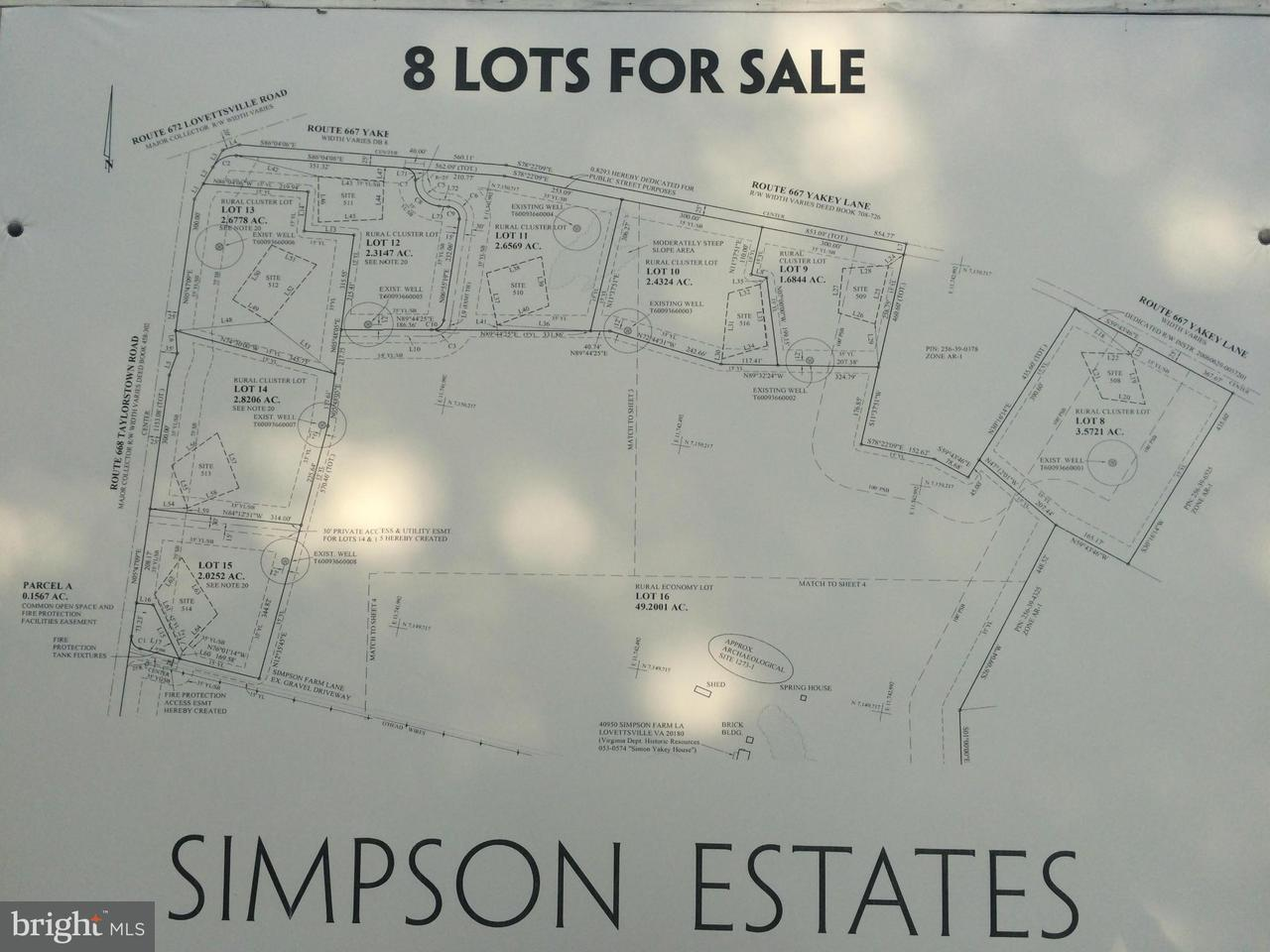 Land für Verkauf beim Taylorstown Road Taylorstown Road Lovettsville, Virginia 20180 Vereinigte Staaten
