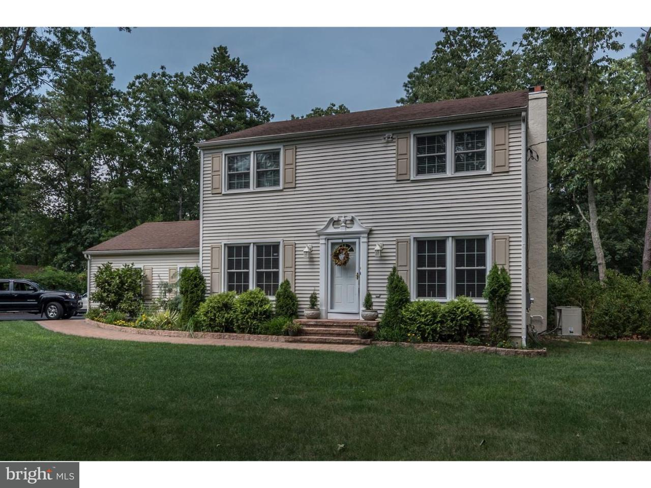 Casa Unifamiliar por un Venta en 402 INDIAN MILLS Road Shamong, Nueva Jersey 08088 Estados Unidos