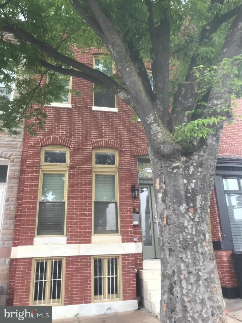 Single Family for Sale at 1254 Broadway Baltimore, Maryland 21213 United States