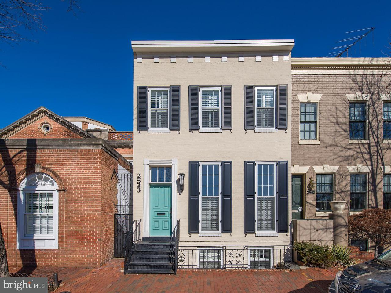 Single Family for Sale at 2523 P St NW Washington, District Of Columbia 20007 United States