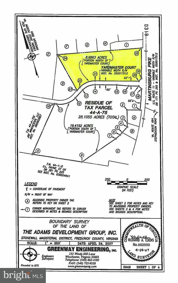 Additional photo for property listing at Martinsburg Pike Martinsburg Pike Winchester, Virginia 22601 Estados Unidos