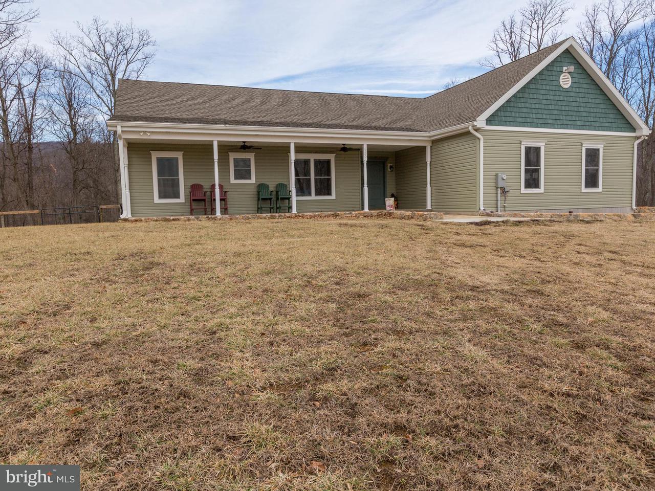 Частный односемейный дом для того Продажа на 230 Oates Road 230 Oates Road Star Tannery, Виргиния 22654 Соединенные Штаты