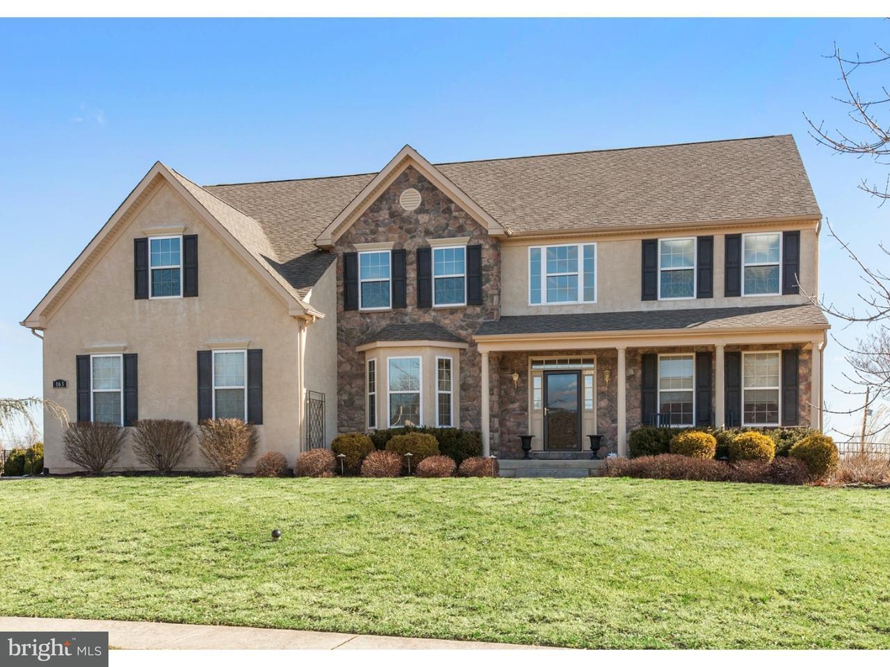 Частный односемейный дом для того Продажа на 163 WENTWORTH Circle Royersford, Пенсильвания 19468 Соединенные Штаты