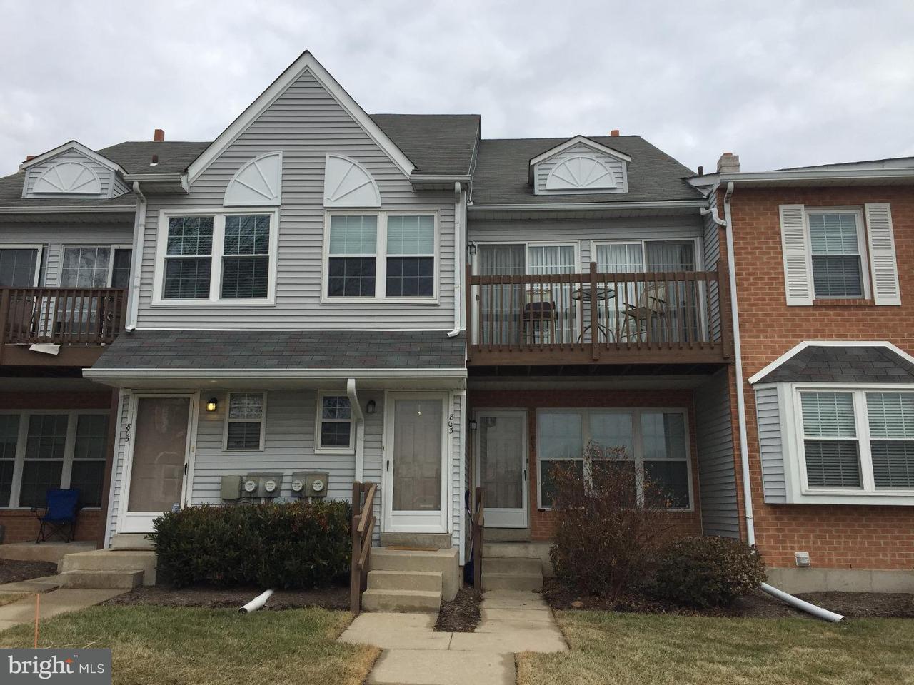 Частный односемейный дом для того Аренда на 803 NORTHRIDGE DR #107B Norristown, Пенсильвания 19403 Соединенные Штаты