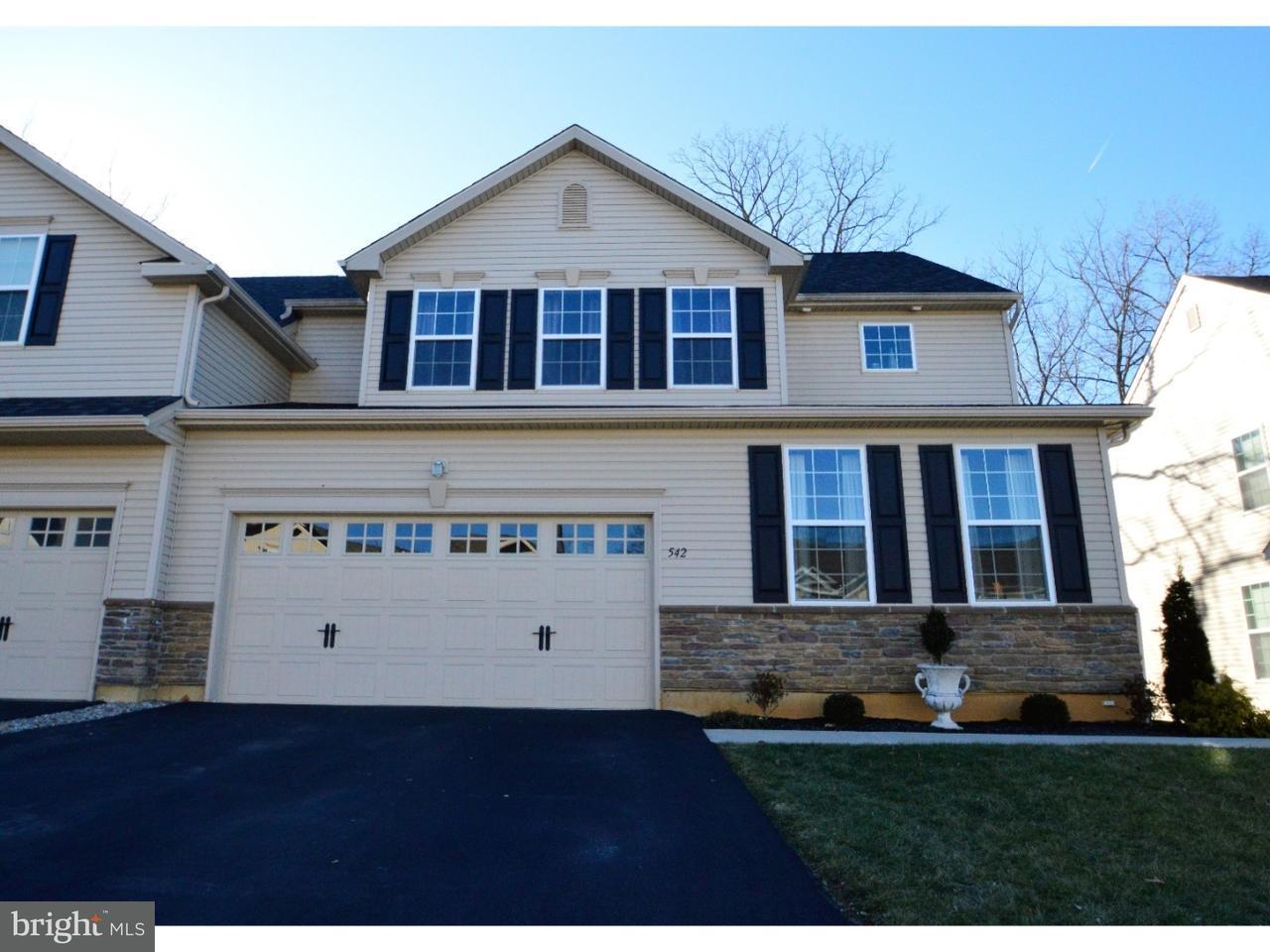 联栋屋 为 销售 在 542 RACITE Road Alburtis, 宾夕法尼亚州 18011 美国