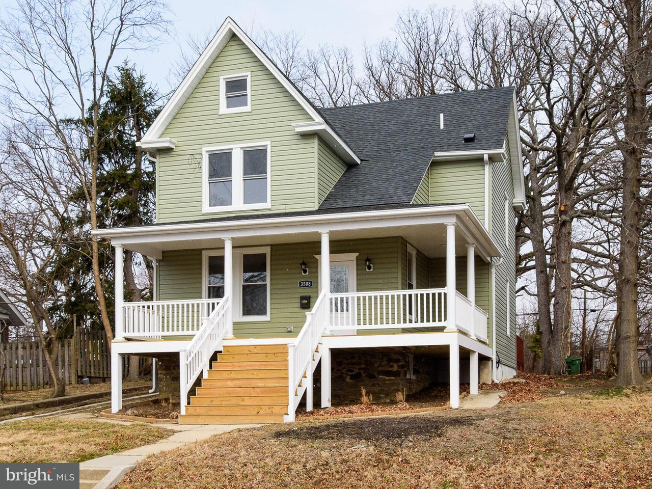 Single Family for Sale at 3508 Hamilton Ave Baltimore, Maryland 21214 United States