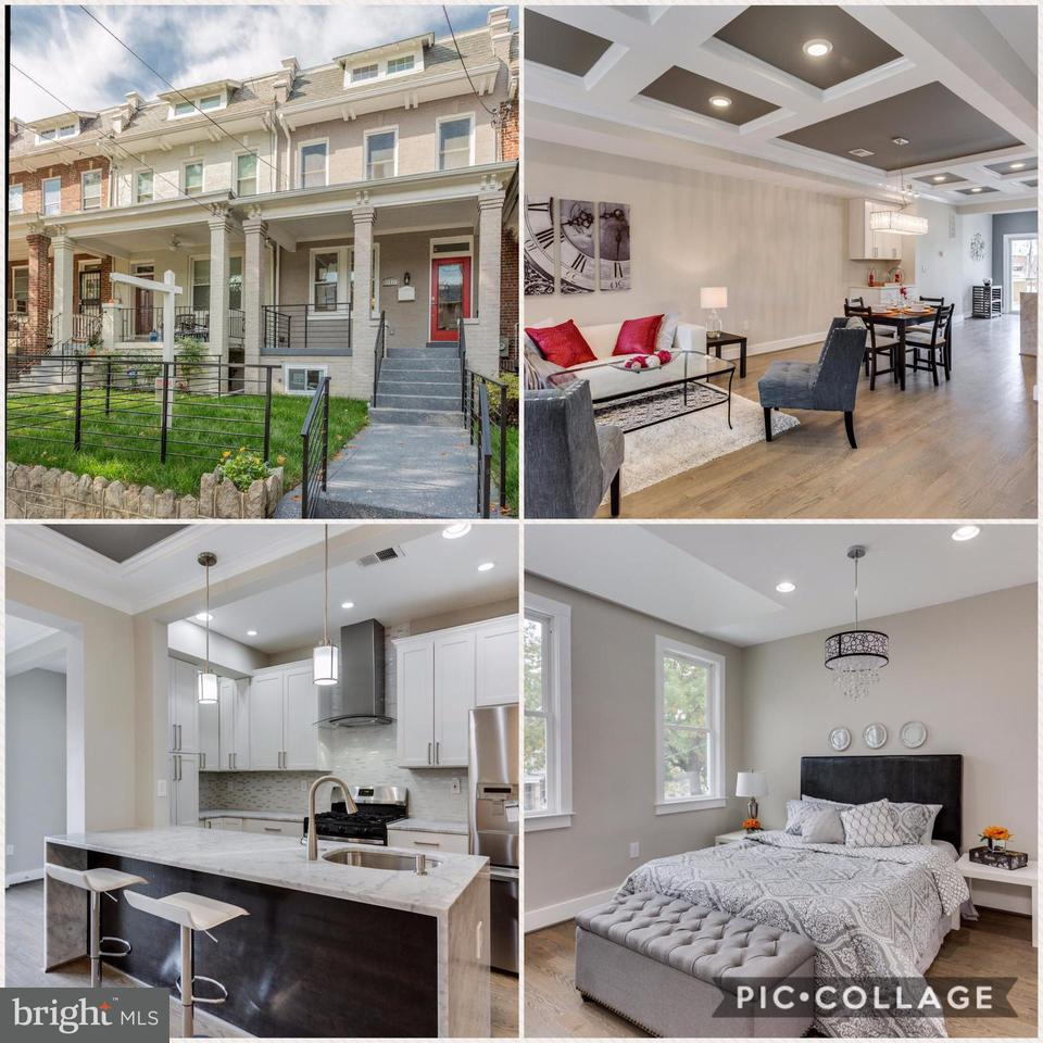 Casa unifamiliar adosada (Townhouse) por un Venta en 5110 5th St Nw 5110 5th St Nw Washington, Distrito De Columbia 20011 Estados Unidos