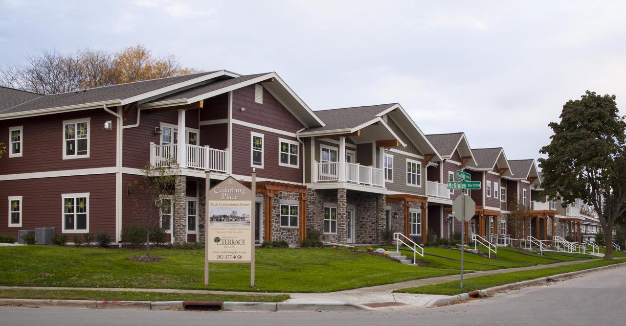 Cedarburg Place is a new development offering a unique opportunity in carefree condo living.Ideally located, these ranch style, fully accessible homes offer the highest levels of craftsmanship and design for discerning buyers. Constructed with the adult lifestyle in mind, a full service association handles all matters, freeing you to spend time doing the things you enjoy.Numerous spacious floor plans all have elevator service and no stairs or steps.Custom design your new home-personalized top-quality interior finishes are all included.From the low $200's. See website at www.cedarburgplace.com
