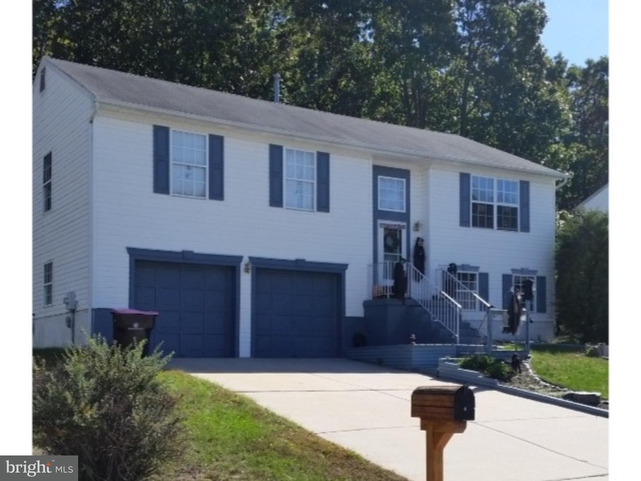 Maison unifamiliale pour l Vente à 8 PARSONS Court Erial, New Jersey 08081 États-Unis
