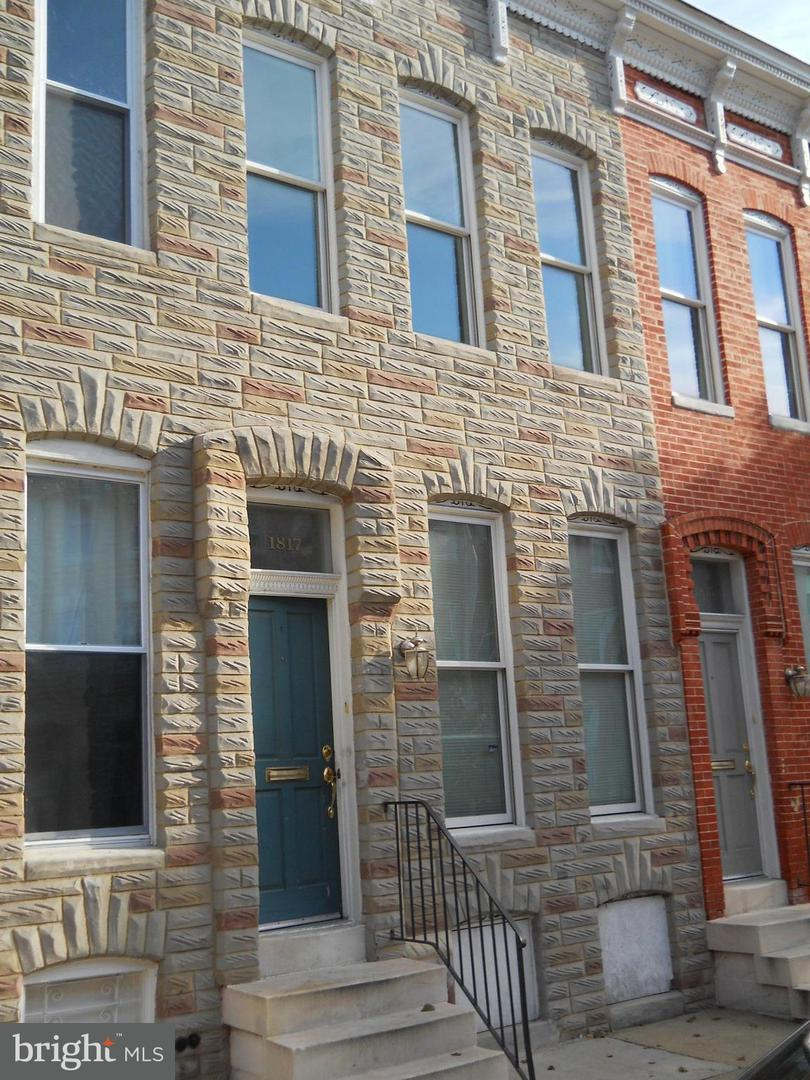 Single Family for Sale at 1817 Druid Hill Ave Baltimore, Maryland 21217 United States