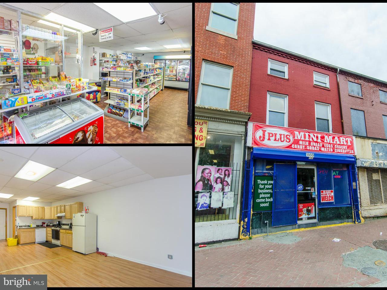 Commercial for Sale at 1103 Baltimore St W Baltimore, Maryland 21223 United States
