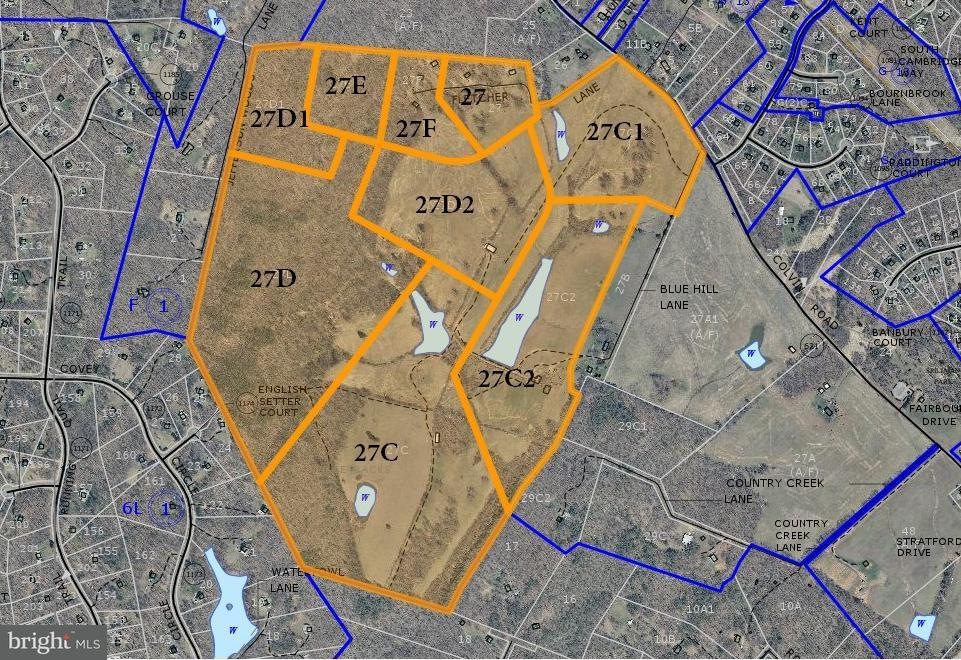 Land for Sale at 16361 Fletcher Ln Amissville, Virginia 20106 United States