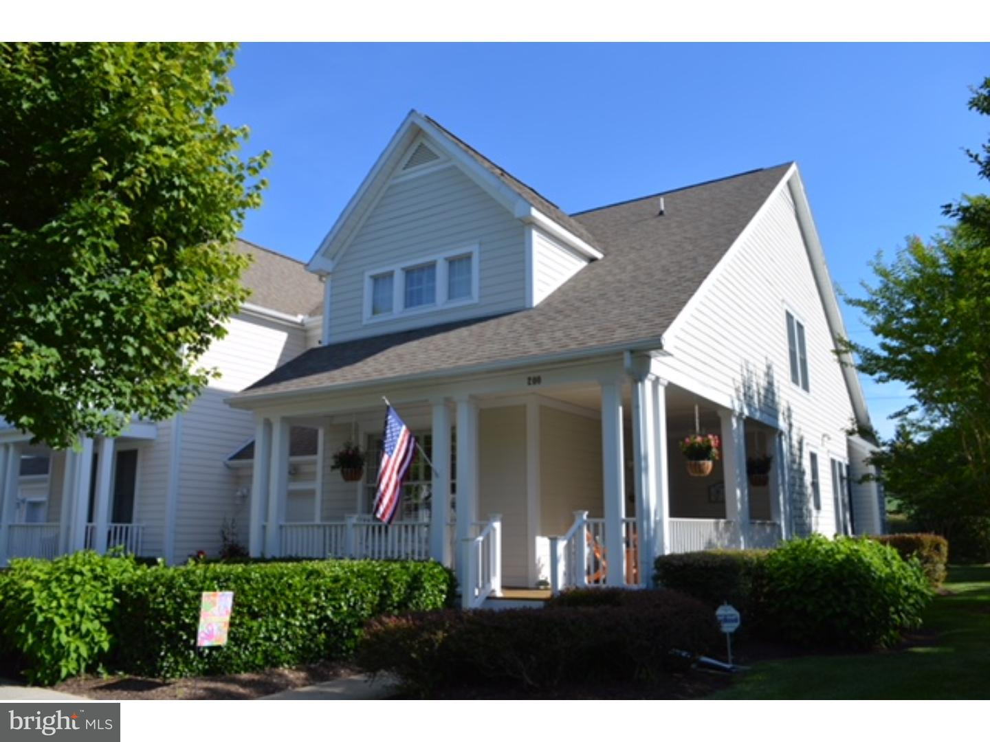 Single Family Home for Sale at 200 OCTOBER GLORY Avenue Ocean View, Delaware 19970 United States