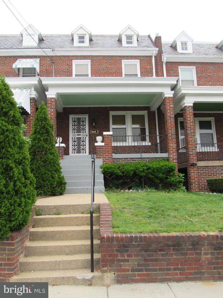 Other Residential for Rent at 5605 2nd St NW Washington, District Of Columbia 20011 United States