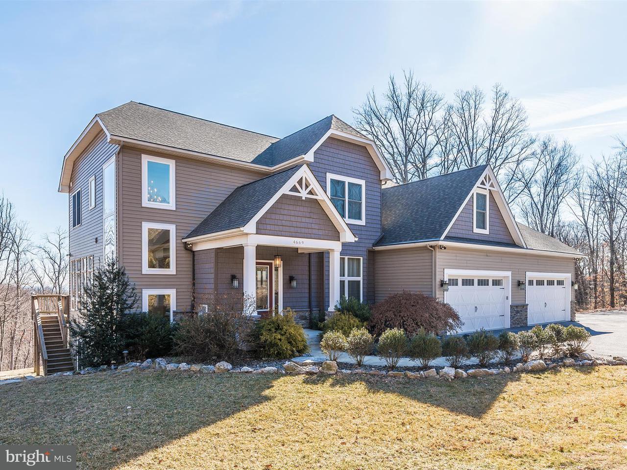 Casa Unifamiliar por un Venta en 4669 Teen Barnes Road 4669 Teen Barnes Road Frederick, Maryland 21703 Estados Unidos