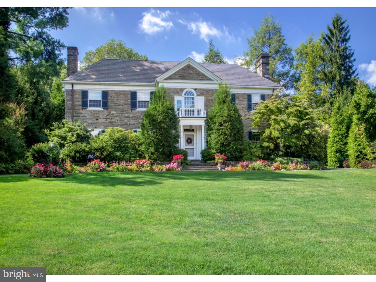Частный односемейный дом для того Продажа на 234 CHESWOLD HILL Road Haverford, Пенсильвания 19041 Соединенные Штаты