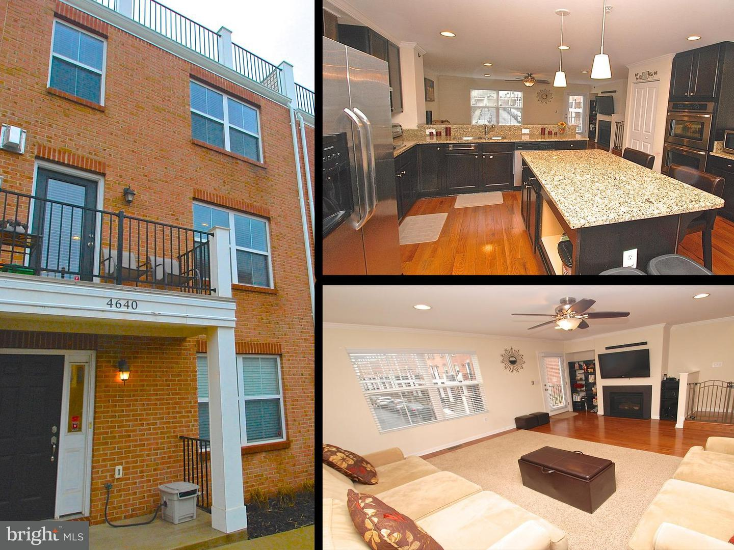 Photo of home for sale at 4640 Dillon Place, Baltimore MD