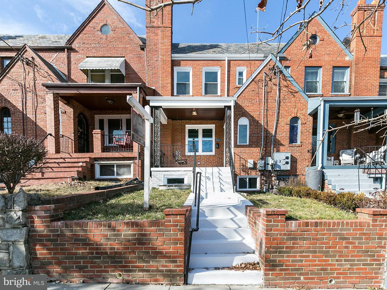 Townhouse for Sale at 5024 3rd St Nw 5024 3rd St Nw Washington, District Of Columbia 20011 United States