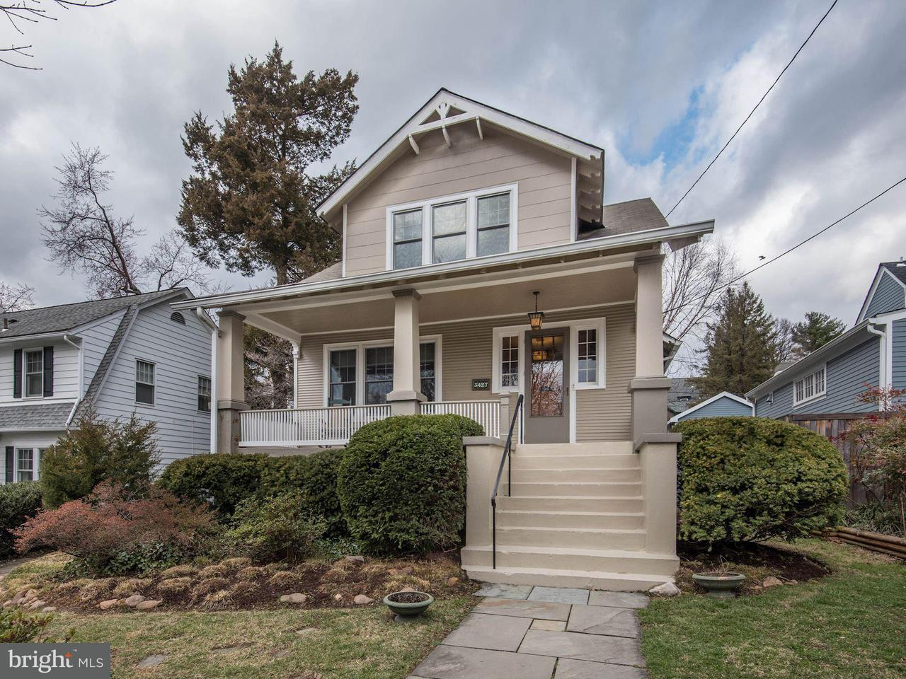 Single Family Home for Sale at 3427 Oliver St Nw 3427 Oliver St Nw Washington, District Of Columbia 20015 United States