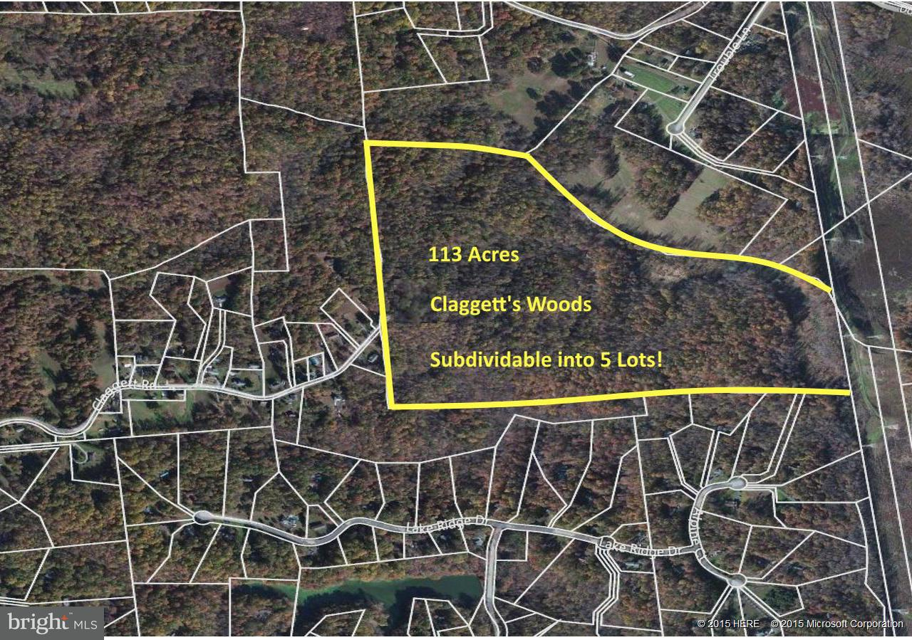 Land for Sale at 1235 Claggett Rd Sunderland, Maryland 20689 United States