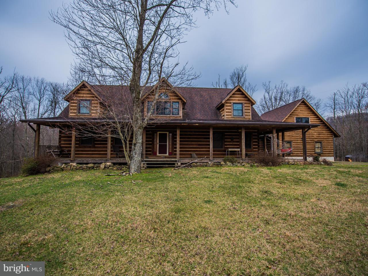Single Family for Sale at 284 Little Long Mountain Ln Huntly, Virginia 22640 United States