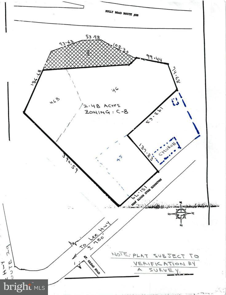토지 용 매매 에 13933 Braddock Road 13933 Braddock Road Centreville, 버지니아 20120 미국