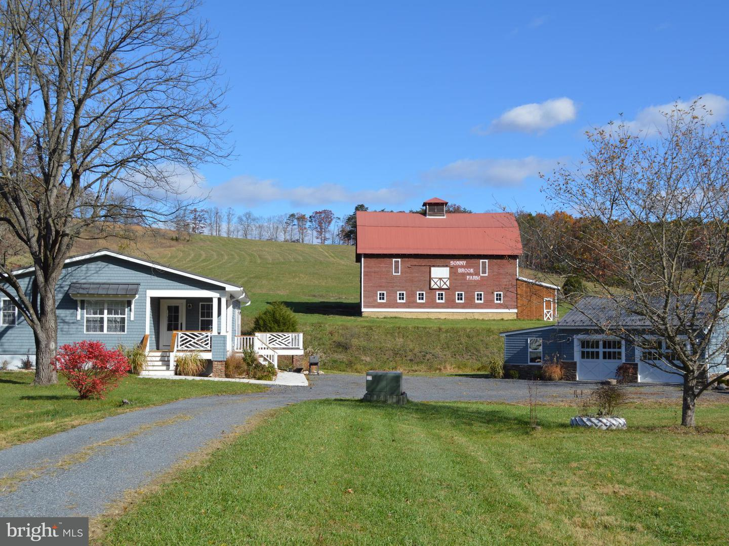 Farm for Sale at 8783 Frankfort Hwy Fort Ashby, West Virginia 26719 United States
