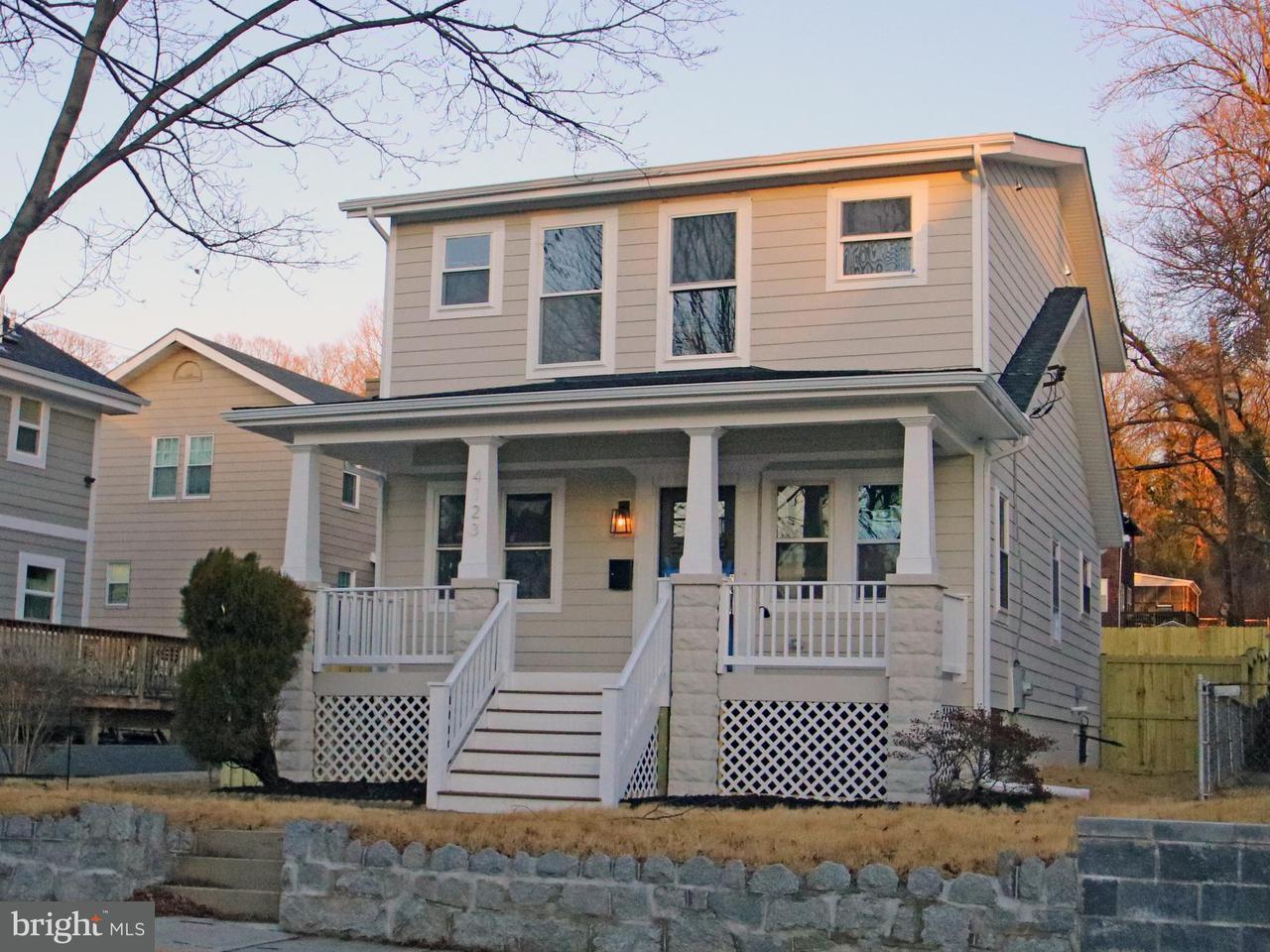 一戸建て のために 売買 アット 4123 22nd St Ne 4123 22nd St Ne Washington, コロンビア特別区 20018 アメリカ合衆国