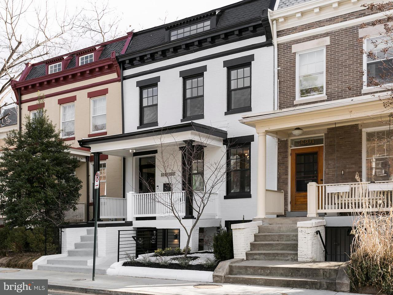 Single Family Home for Sale at 3303 Brown St Nw 3303 Brown St Nw Washington, District Of Columbia 20010 United States