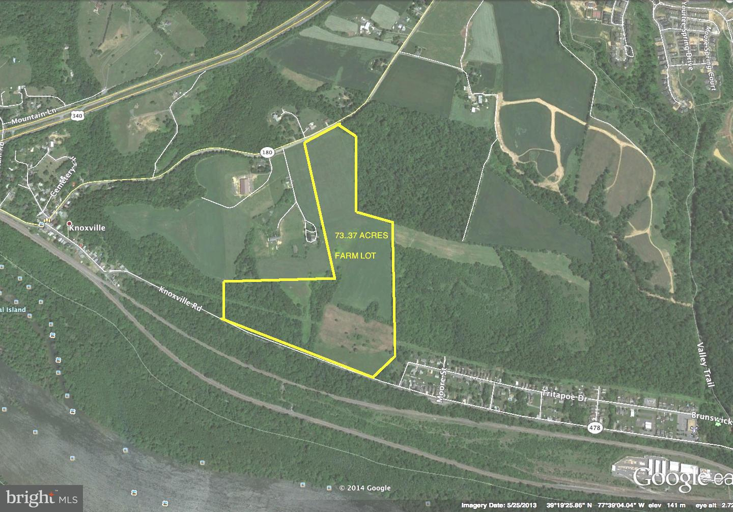 Land for Sale at Jefferson Pike Knoxville, Maryland 21758 United States